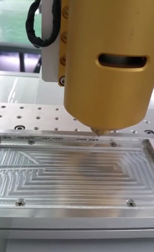 热熔胶手机边框自动点胶机